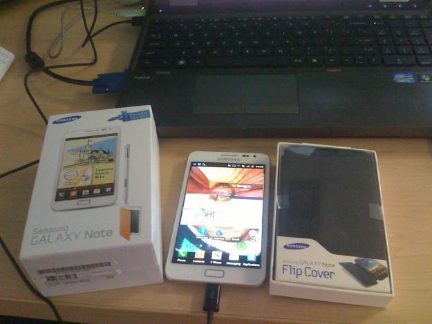 White Samsung Galaxy Note 16GB