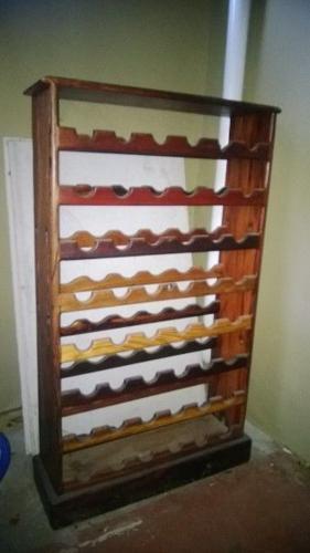 Wine Rack Sleeper Wood