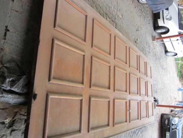 Learn wooden doors for sale gauteng still remember - Double wooden garage doors ...