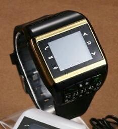 WRIST WATCH CELL PHONE DUAL SIM CARD F/HOUSE
