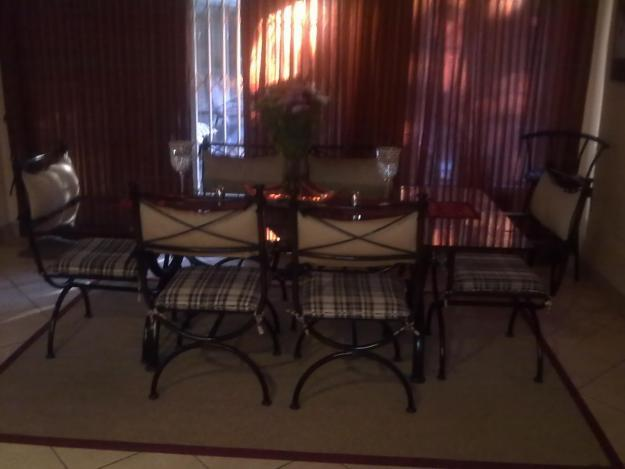 WROUGHT IRON DINING ROOM SUITE For Sale In Pretoria Gauteng Classified Sou