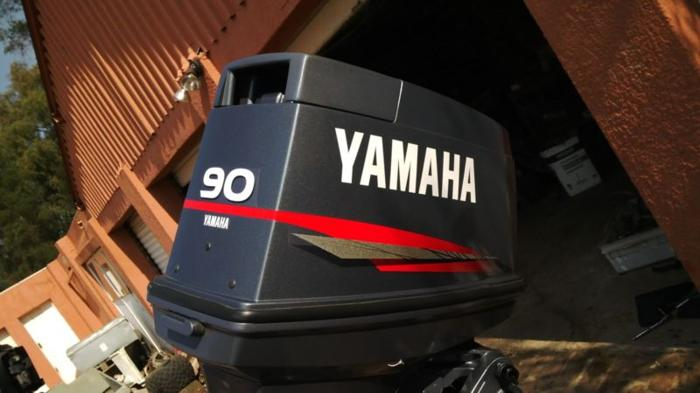 Yamaha 90hp 2007 only 39 hours