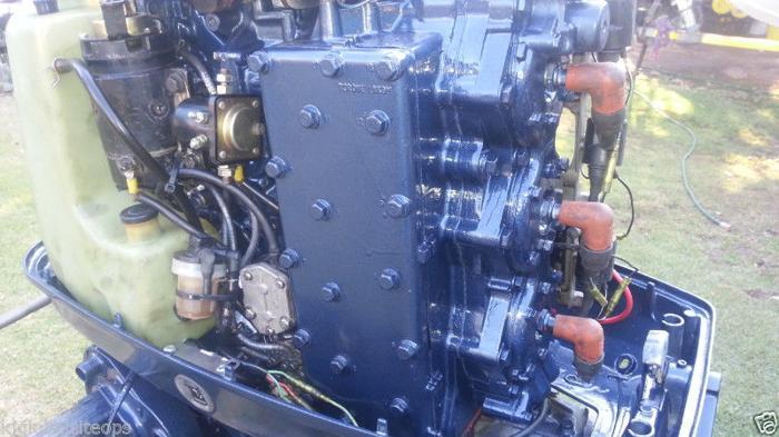 Yamaha 90hp outboard engine