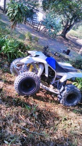 Yamaha blaster to swop for 2 wheeler
