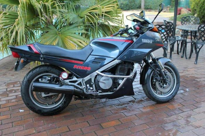 Yamaha FJ1200 Motorcycle in Alberton, Gauteng for sale