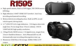 The 1080P Full HD Dash camera with GPS Logger and