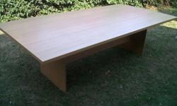 Selling a Oak Veneer 10 seater boardroom table or