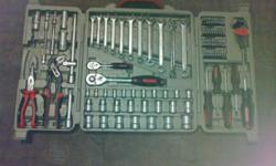 110 Piece Precision Toolbox. EEvery tool has its own