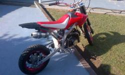 125cc Off Road Pit Bike - Good Condition- My son has
