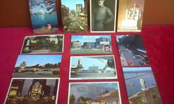 12 American 1960's Postcards. Great for a collector.