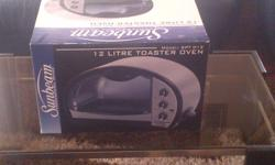 12 ltr Toaster Oven, Brand new in the box, never been