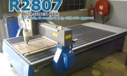 EasyRoute 1300�2500 3kW CNC Sign-Making Router, 220V,