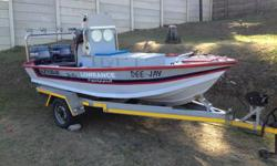 14,6 Ski-Vee for sale. 2 pull start 30 yamahas. All the