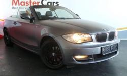 2010 BMW 120i CONVERTIBLE AUTO Colour: Space Grey; Full