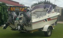 15,6 BOAT FOR SALE OR TO SWAP FOR A 4X4 BAKKIE