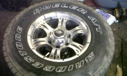 selling an set of bakkie mags 15 inch with tyres still