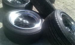 15 inch rims with tyres in good condition with 108pcd