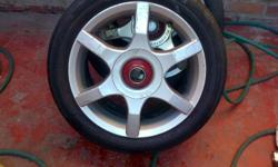 15inch tsw rims 5/100 fits polo ect Has velocity R Max