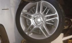 "Hi I'm selling a set off 195-45-16 "" mags and tyres can"
