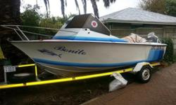 Boat in great condition, includes Garmin 152 GPS, fish