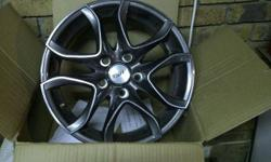 4 x 16� TSW Hurricane (colour is anthracite) mag