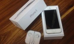 I have a white iphone 5 for sale! Less than a year old,