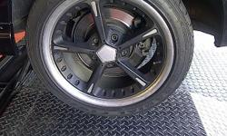 "17"" AC Schnitzer Rims, they are sprayed black with"