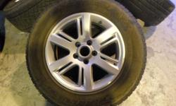 "17"" VW Amarok original wheels with tyres, size"