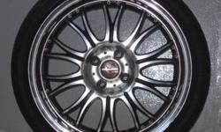 "17"" Mags / Rims Racing Hart LT1 with Tyres. Very Good"