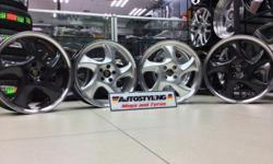 "17"" PORSCHE CUP REPLICA 4x100 and 5x100 PERFECT FOR VW"