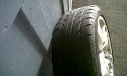 "17"" TFT Mags for sale with 215/45/17 tyres. Complete"