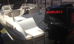 17ft RAVEN ELITE WITH SUZUKI 140 FOR SALE BOAT IS IN