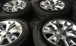 "18"" NEW Ford Wildtrak Mags and Continental Cross"
