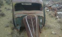 1936 hudson cab with suicide doors , ideal for a rat