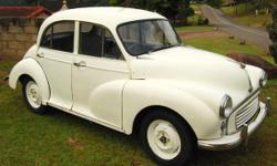 Beskrywing 1959 MORRIS MINOR 1000 I bought this