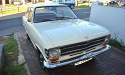 Hi there, I am selling my opel kadett. The car is very