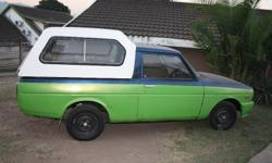 Selling MY 1200cc Bakkie Rust Free Vehicle has new