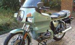 This is one of the best cared-for BMW R100RT's on the