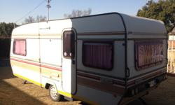 Sprite Major caravan. Lots of extras. Lots of space. 6