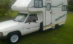 1985 2.4 Diesel Toyota Camper4 Sleeper, fridge,