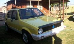 Beskrywing 1986 VW Citi Golf (Witbank) Good Running