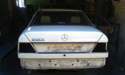 Complete 1987 124 Series Mercedes Benz 230E Stripping