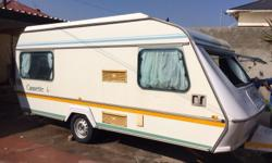1991 Gypsey Caravette 6, 3 new tyres, full tent and