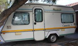 1992 Gypsey Caravette 5 Caravan in good condition, with