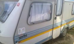1992 SPRITE SUPER SPORT FOR SALE DOUBLE SIDE BED AT THE