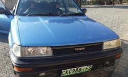 Toyota Corolla 1.6Gl 1992 Model. Excellent condition.