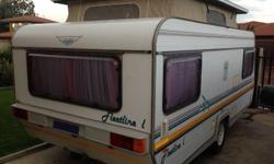 Caravan in a very good condition. New roof