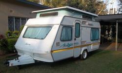 Very good condition! 1995 model. Full tent, rally tent