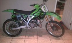 Very good condition KX 125 R10,500 onco 0826264079