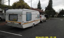 1995 Sprite Super Sport, 4 berth, with island bed,
